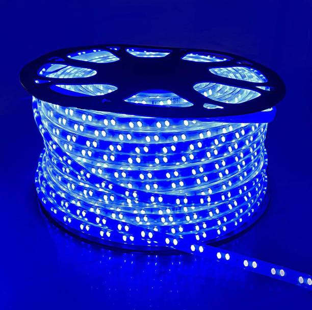 Tryka 5730 Led Strip/Cove Light 80 Led's - 10 Meter Strip color : Blue with 1 adapter Recessed Ceiling Lamp