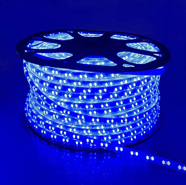 Tryka 5730 Led Strip/Cove Light 80 Led's - 6 Meter Strip color : Blue with 1 adapter Recessed Ceiling Lamp