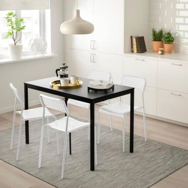 IKEA Metal 4 Seater Dining Set
