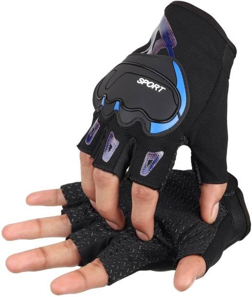 Auto Hub Bike Riding Half Gloves Riding Gloves