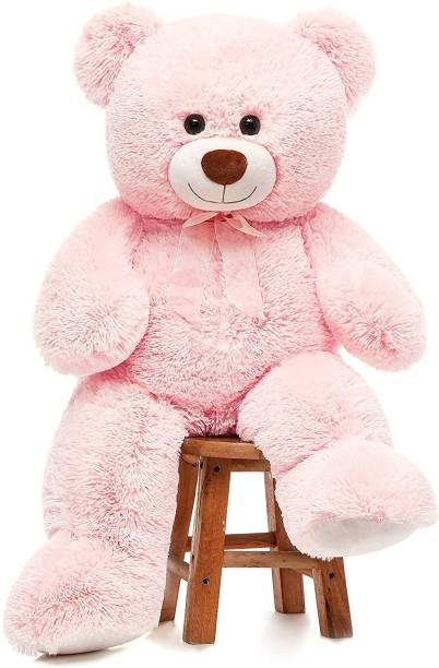Shoppingkarts 36 inch Teddy Bear Stuffed Animals, Soft Cuddly Stuffed Plush Bear, Cute Stuffed Animals Toy, Gifts for Kids Baby Toddlers on Baby Shower, Birthday, Pink Color  - 91 cm