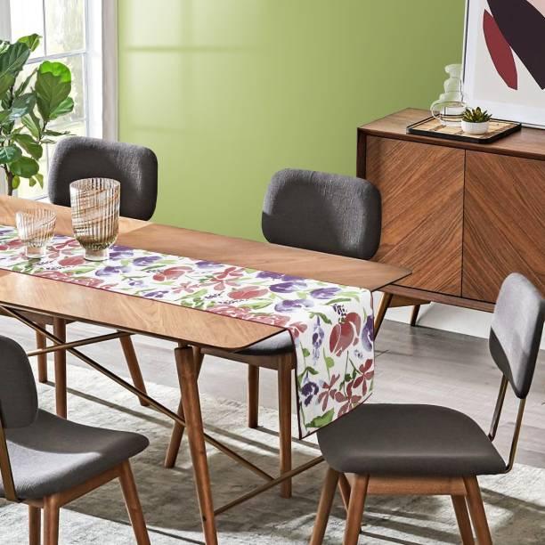 Cherry Homes Multicolor 72 cm Table Runner