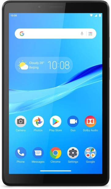 Lenovo M7 2 GB RAM 32 GB ROM 7 inches with Wi-Fi+4G Tablet (Black)