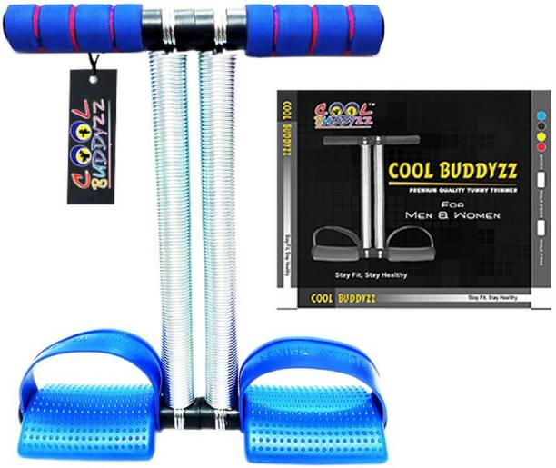 Cool Buddyzz Premium Quality Double Spring Tummy Trimmer For Men & Women (Made in India) Ab Exerciser