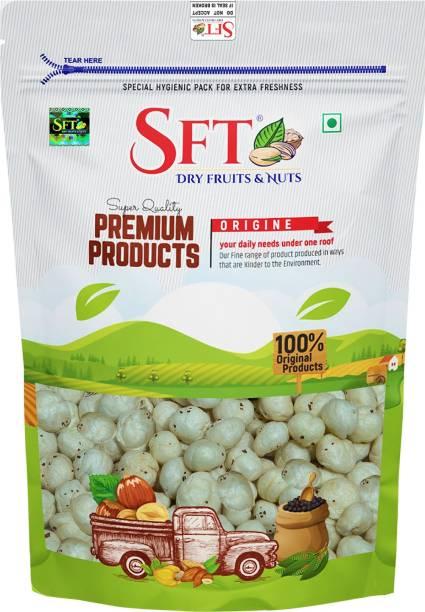 SFT Regular Lotus Seed Pop/Gorgon Nut Puffed Kernels (Phool Makhana) Fox Nut Grade - Big Size