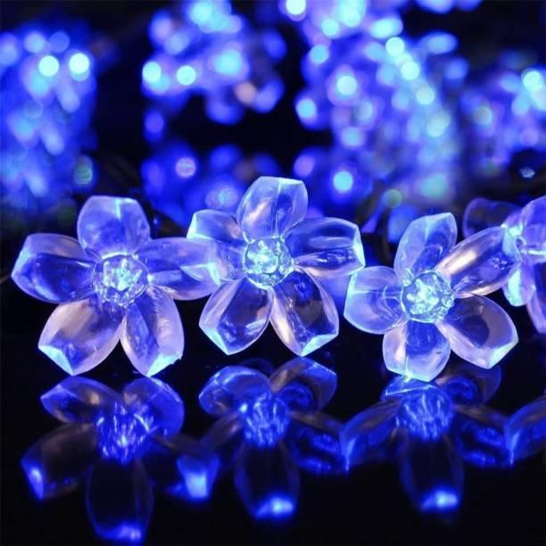 NISCO 118.11 inch Blue Rice Lights