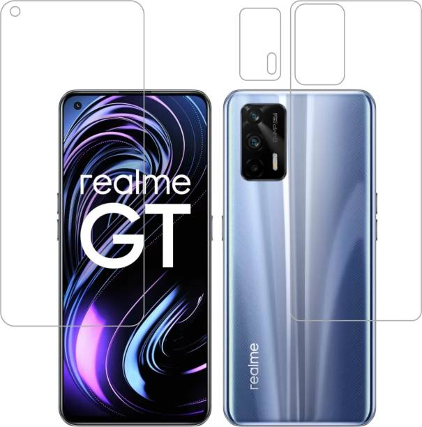 Vatsin Front and Back Screen Guard for Realme X7 Max