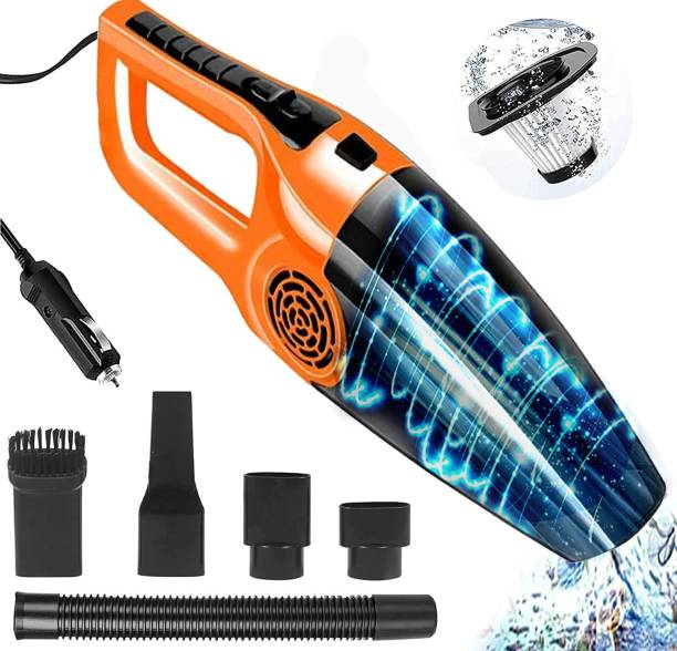 Zinsy 12V High Power Wet & Dry Portable Handheld Car Vacuum Cleaner Car Vacuum Cleaner with Anti-Bacterial Cleaning, 2 in 1 Mopping and Vacuum, Anti-Bacterial Cleaning, Reusable Dust Bag new 2022 Car Vacuum Cleaner with 2 in 1 Mopping and Vacuum, Anti-Bacterial Cleaning