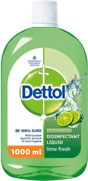 Dettol Multipurpose Disinfectant liquid, Lime Fresh Antiseptic Liquid