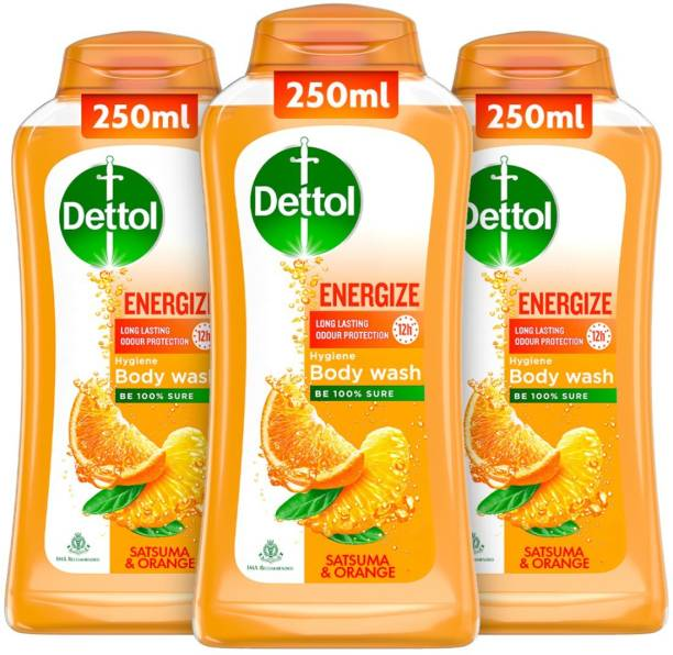 Dettol Body Wash and shower Gel, Energize