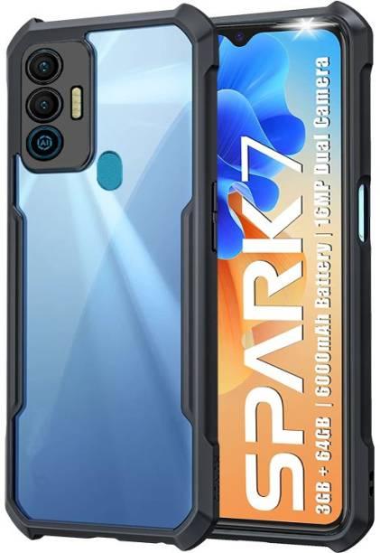 BOZTI Back Cover for Tecno Spark 7
