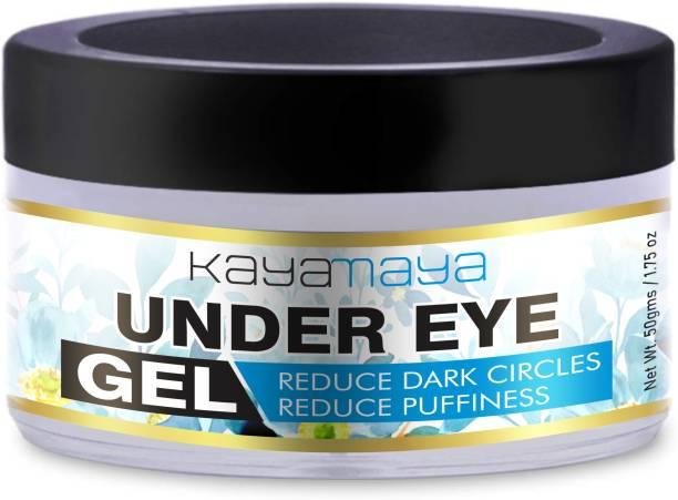 Kayamaya Under Eye Gel for Dark Circles, Puffy Eyes, Wrinkles & Removal