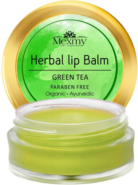Mexmy Green Tea Lip Balm For Dark Lips For Women Green Tea