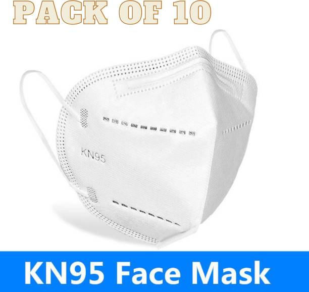 G-HAWK N95 5 Layer Reusable Anti - Pollution Breathable Face Mask ( White ) for Men , Women and Kids Mask Respirator GH10 Reusable, Washable, Water Resistant