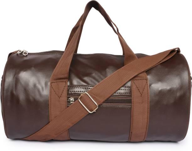 BacBag Brown/Tan Rex Multipurpose Gym/Sport Bag with Front Pocket
