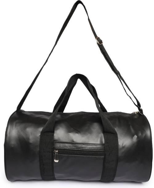BacBag Black Rex Multipurpose Gym/Sport Bag with Front Pocket