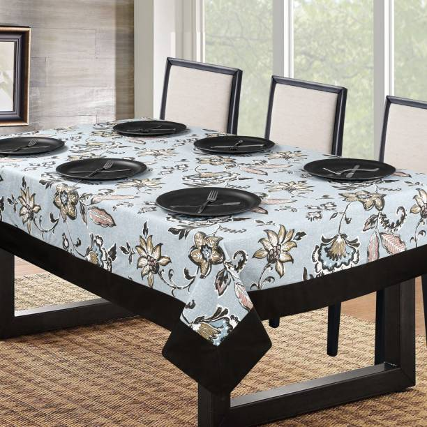 Cherry Homes Printed 6 Seater Table Cover