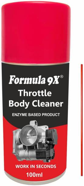 Formula 9x Throttle Body Cleaner & Air Intake Cleaner - 100ml Engine Cleaner