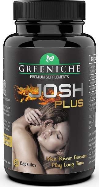 Greeniche 100% Ayurvedic Josh Plus Stamina, Power & Timing for Men
