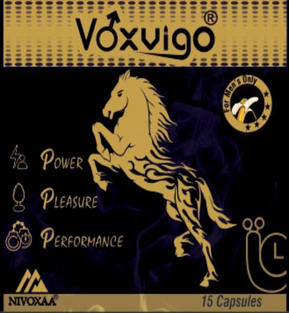 VOXVIGO Premium Quality Power Pleasure Performance Testosterone Booster For Men