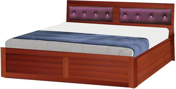 POJ Smith (RTA) King Size Bed A Zero Maintenance Bed Engineered Wood King Hydraulic Bed