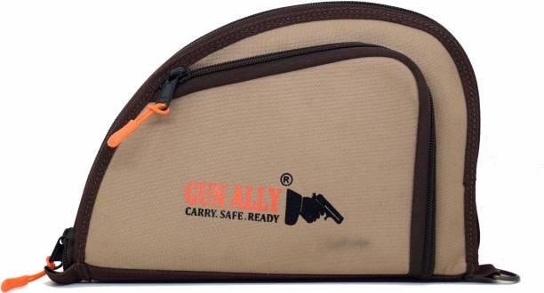 GunAlly Nylon Bag for Pistol/Revolver Gun Storage Pistol/Gun Cover Free Size