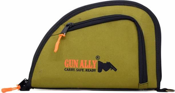 GunAlly Nylon Bag for Pistol/Revolver Gun Storage Bag Pistol/Gun Cover Free Size