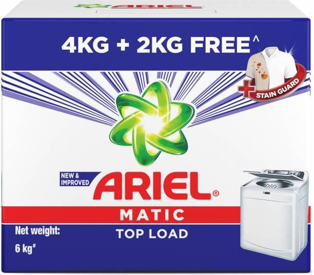Ariel Top Load Matic Detergent Powder 4 kg