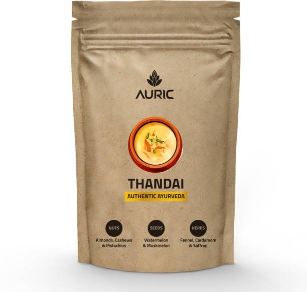 Auric Instant Ayurvedic THANDAI | Contains healthy nuts, seeds, spices and herbs
