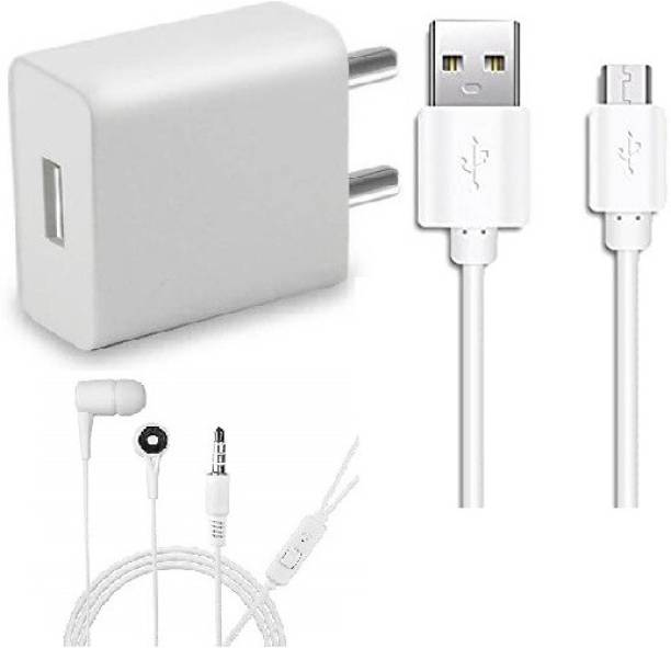 VlVQ Wall Charger Accessory Combo for Infinix Hot S3,Realme 3,Realme U1,Realme C2,Realme 3i, Honor 9N, Oppo A5s,Vivo Y91,Infinix S4,Asus Zenfone Max ,Infinix Hot 7,Vivo Y81 Panasonic Eluga Ray X, Gionee S6s, Samsung Galaxy S7, Vivo Y55L, Samsung Galaxy On7, Lenovo P2, Samsung Galaxy On Nxt, Honor 6X, Coolpad Note 5, Samsung Galaxy J7, Oppo F1 Plus,Lenovo Vibe K5 Plus, Samsung Z2, Vivo Y51L, Moto G5 Dual Port Charger Original Adapter Like Wall Charger Cable, Mobile Power Adapter Cable, Fast Charger, Android Smartphone Charger, Battery Charger, High Speed Travel Charger With 1 Meter Micro USB Cable Charging Cable Data Transfer Cable