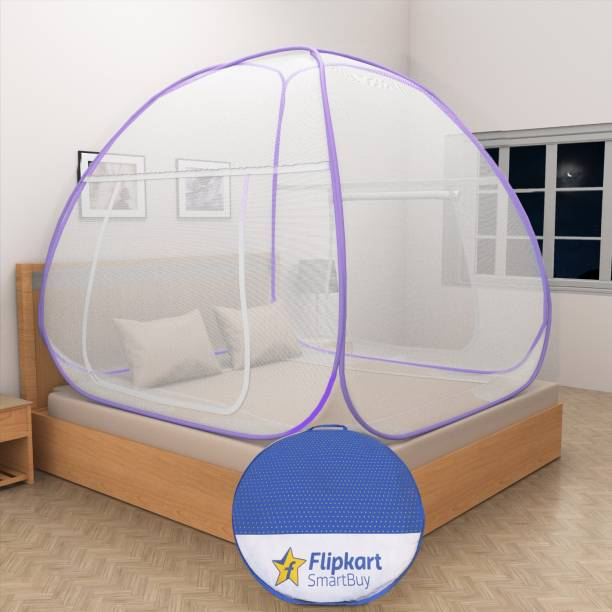 Flipkart SmartBuy Polyester Adults Single Yarn Foldable Double Bed Mosquito Net