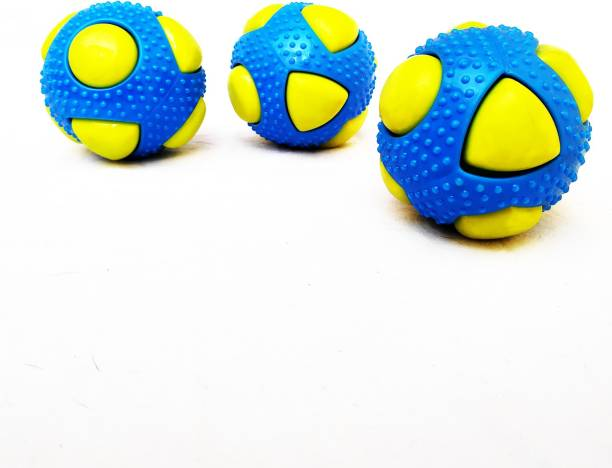 DIGI BUCKET Dog Toy Squeaky Sound Ball,Interactive Toy  Chew Toys   Training ball for All Dog Breeds Rubber Ball For Dog