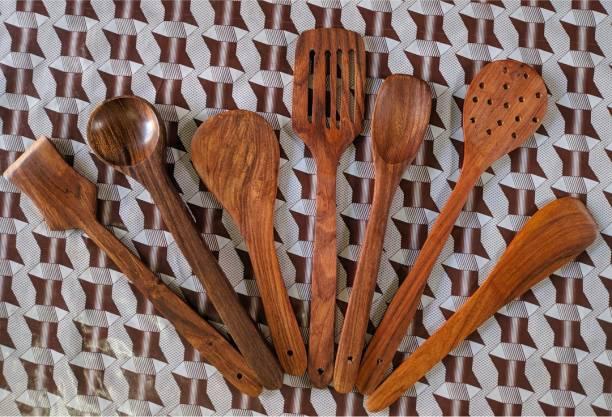 Decorasia Wooden Serving Spoon Set