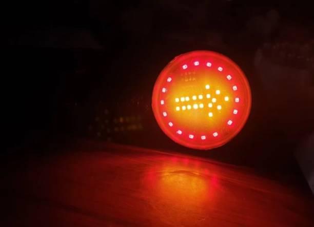 A.G CUSTOM Front, Rear LED Indicator Light for Universal For Bike Universal For Bike