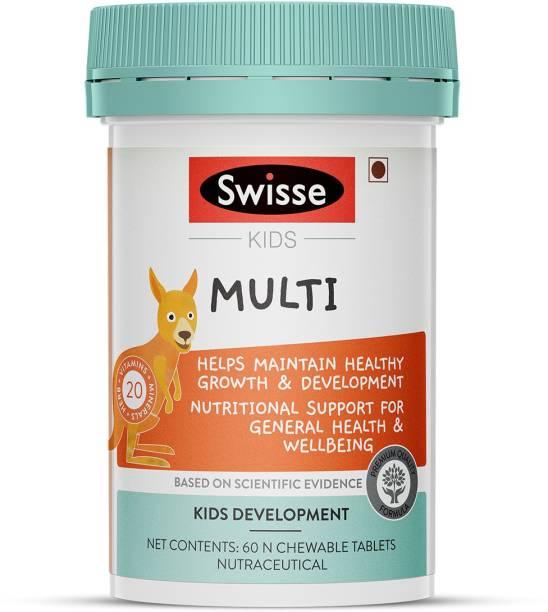 Swisse Kids Multivitamin for Healthy growth & development in children 5-12 years
