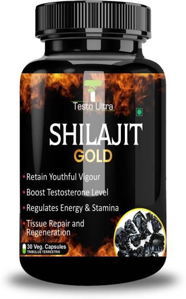 Testo Ultra Shilajit Gold Capsule for ling mota lamba karne ki Dawai Sex Power Badhane Ki Dawa 100% Ayurvedic & Natural