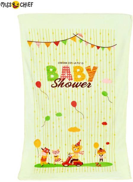 Miss & Chief Microfiber 500 GSM Bath Towel