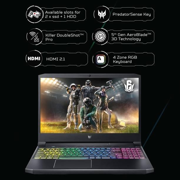 acer Predator Core i7 11th Gen - (16 GB/1 TB SSD/Windows 10 Home/6 GB Graphics/NVIDIA GeForce RTX 3060/165 Hz) ph315-54-78cp/ph315-54 Gaming Laptop