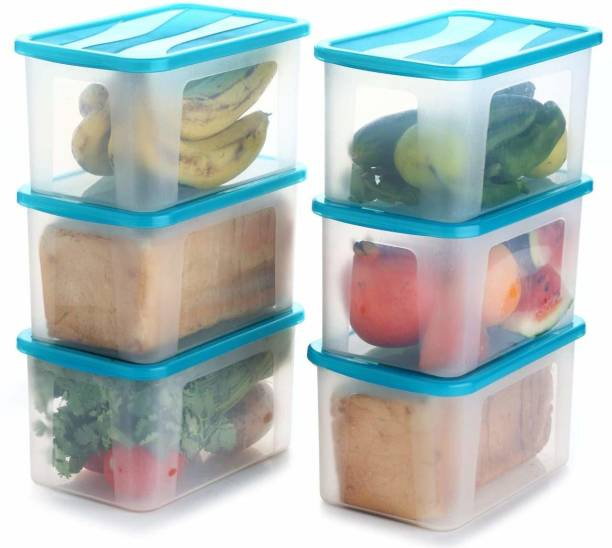 Flipkart SmartBuy Premium Quality Unbreakable Fridge Container / Plastic Jar / Grocery Containers / Storage Containers / Container sets / Storage Jar / Egg Container / Tea Coffee & Sugar Container / Pickle Container / Utility Container / Masala Box / Freezer Storage Box / Fridge Storage Containers / Plastic Containers / Kitchen Containers / Kitchen Storage Box Idle for Food, Grain, Rice, Pasta, Spices And Pulses Container / Medical Box Each Container  - 2000 ml Plastic Bread Container
