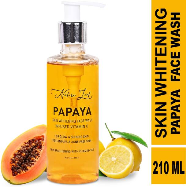 nature leaf Papaya Skin Whitening  Face Wash
