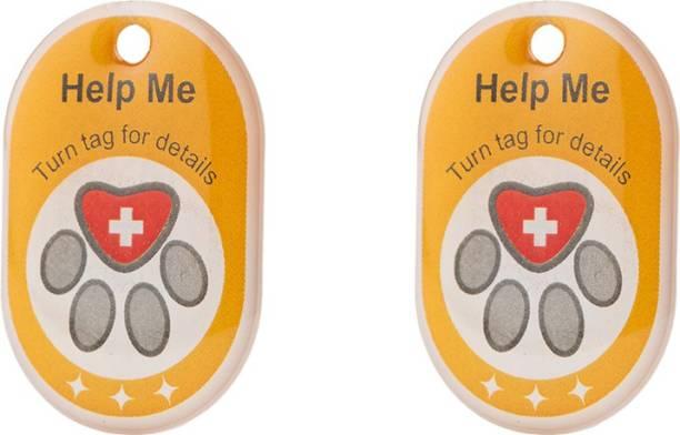 Tag8 genie Smart pet tag Embellished Dog & Cat Collar Charm