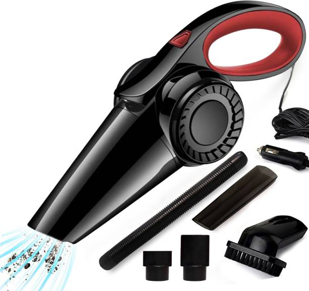 Sasimo 12V High Power Wet & Dry Portable Handheld Car Vacuum Cleaner Havy Black,Red Car Vacuum Cleaner