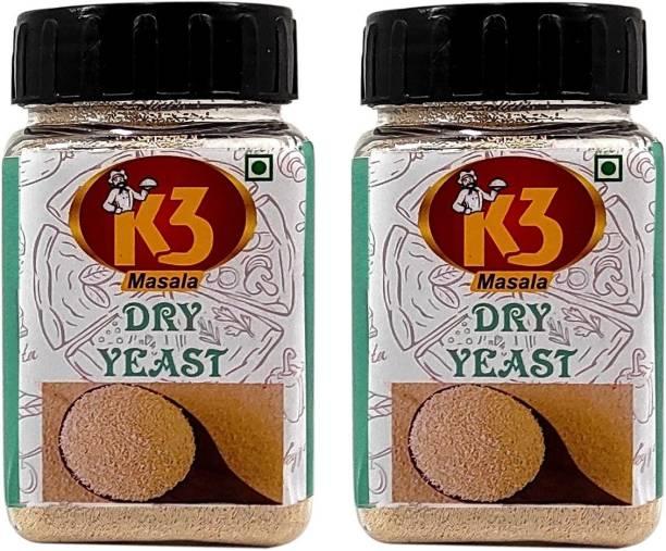 K3 Masala Dry Yeast 100gm(Pack of 2) Yeast Powder