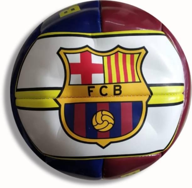 Radha Kripa FCB Football White Football - Size: 5