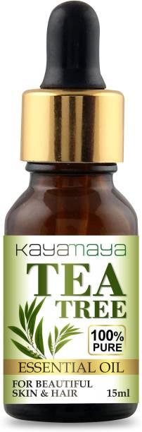 Kayamaya Tea Tree Oil for Skin, Hair and Acne care - Tea-Tree Essential Oil