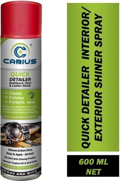 CABIUS Liquid Car Polish for Exterior, Dashboard, Metal Parts, Tyres, Headlight, Bumper, Chrome Accent, Leather