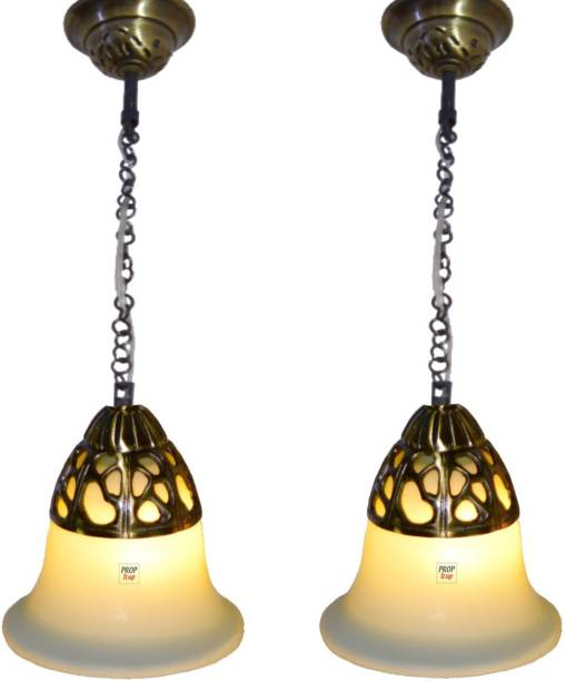 Prop It Up SFL Antique Design Brass Portuguese Style Single Ceiling Hanging Light 5810/1HL PACK OF 2 Chandelier Ceiling Lamp