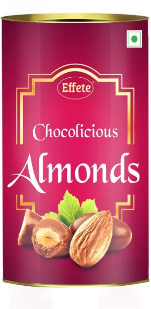 Effete Chocolate Coated Roasted Almonds - 96 Grams | Almond Chocolate, Chocolate Coated Almonds | Caramels