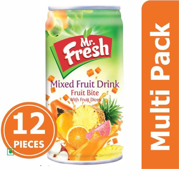 MR FRESH MANGO FRUIT BITE DRINK IN PACK OF 12