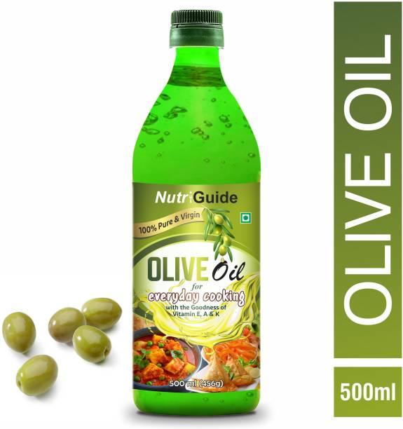 Nutri Guide Extra Virgin Olive Oil Plastic Bottle Olive Oil Plastic Bottle